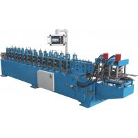 Wholesale Galvanized Steel Rolling Door Frame Roll Forming Machine 13 Stations from china suppliers