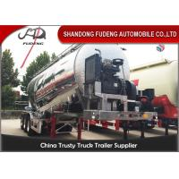 Wholesale Aluminium Alloy 3 Axles Bulk Cement Tanker Trailer Volume 45 CBM - 65 CBM from china suppliers