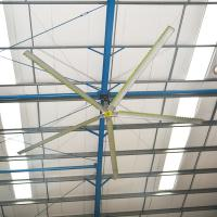 China Large Covering Area Air Cooling Aerodynamic Design HVLS Ceiling Fan on sale