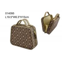Wholesale Professional Funky PU Cosmetic Bag Large Toiletry Case Irregularity Shape from china suppliers