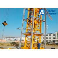 Wholesale Self - Elevating Internal Climbing Tower Crane Boom Length 50m 6 ton from china suppliers