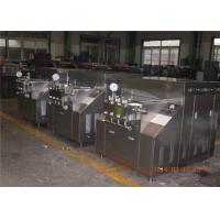 Wholesale Two stage 304 stainless steel Food Grade Dairy Milk Homogenizer Equipment from china suppliers