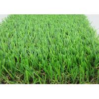 Quality W Shape Yarn Artificial Grass Carpet With 35MM Height  For Garden Decoration for sale