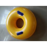 Wholesale Round Yellow Inflatable Sports Games Winter Sports Ski Ring Sizes from china suppliers