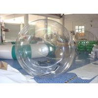 Wholesale 0.9mm PVC Tarpaulin  Inflatable Water Ball Customized Size For Children from china suppliers