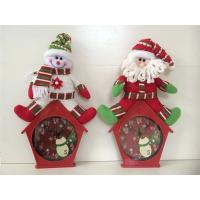 Wholesale Hanging wall clock large christmas wall decoration from china suppliers
