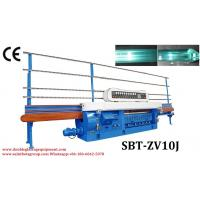 Wholesale 20.3KW 10 Spindles Glass Flat Edger & Variable Miter Machine from china suppliers