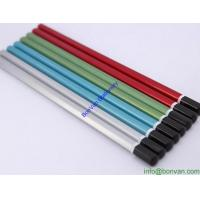 Wholesale Wooden Hexagon Pencils Color Pencil With Dip Head, metallic color wooden pencil from china suppliers