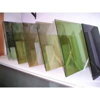 Wholesale Thick Heat Reflective Coated Glass Laminated For Building , Clear / Sapphire 2250x3300mm from china suppliers