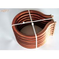 Wholesale Extruded Copper / Cupronickel Finned Tube Coils for Water Heater Boiler from china suppliers