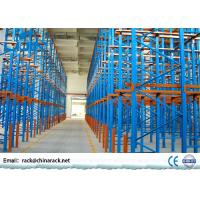 Wholesale Powder Coated Selective Drive In Pallet Rack High Density Q235B Steel from china suppliers
