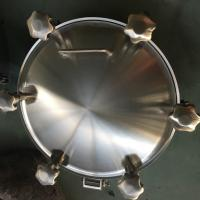 Wholesale Sanitary Pressure Round Outward Manway for Tank from china suppliers