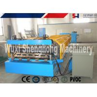 Wholesale Blue Metal Wall Panel Roll Forming Machine Cr12 Quenched Treatment from china suppliers