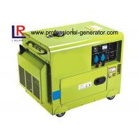 Buy cheap CE Air - cooled Silent 5kw Diesel Driven Generator with Electric Starting from wholesalers