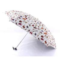 Wholesale New Windproof Anti UV Clear Rain Korean Cute Princess Folding Umbrella from china suppliers