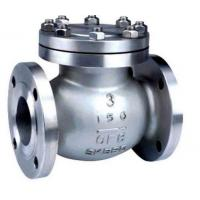 Wholesale API ISO CE Standard Cast Check Valve , Stainless Steel Swing Check Valve from china suppliers