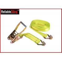 Wholesale Heavy Duty Strong Capacity Car Tie Down Ratchet Straps J Hook Cargo Lashing Belt from china suppliers