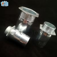 China BSCC EMT Conduit Conector Rigid Conduit Fittings Steel / Zinc Plated Material on sale