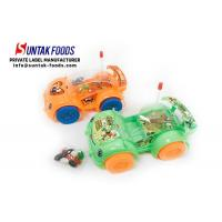 Wholesale Lighting Toy  Car  With Colorful Jelly Bean Candy For Little Boy from china suppliers