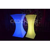 Wholesale Modern Led Cocktail Table Glow Outdoor Furniture Water Proof from china suppliers