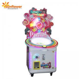 China 2018 Sunflower kids candy catcher gift machine candy machine lollipop vending machine on sale
