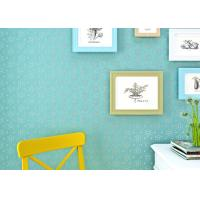 Wholesale Cadmium Green Simple Style Childrens Bedroom Wallpaper Modern Wall Covering from china suppliers