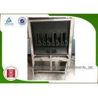 Wholesale Charcoal Heating 8 Fish Spaces Single Layer Rectangle Shape Fish Grill Equipment from china suppliers