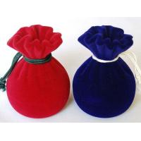 Wholesale personalized velvet jewelry bag, jewelry box from china suppliers