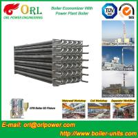 Wholesale Water Heater Boiler Stack Economizer Boiler System , Boiler Economiser from china suppliers