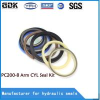 China PC 200-8 Manufacture high quality competitive price excavator hydraulic cylinder arm seal kit on sale