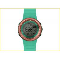 Wholesale 16mm Thin Wrist Watch For Student , Kids Plastic Watch Dialy Alarm TPU strap, many colours from china suppliers