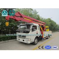 Wholesale Dongfeng Commercial Aerial platform truck 20 Meters Hydraulic Articulated Booms from china suppliers