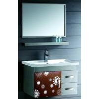 Wholesale No Cracks and Strong Constrution Stainless Steel Bathroom Base Cabinet  from china suppliers