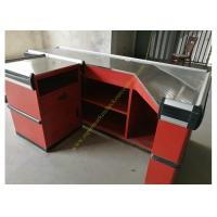 Wholesale Metallic Used Supermarket Checkout Counter / Cash Register Counter With Rust Free Material from china suppliers