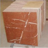 Quality Rojo Alicante Marble Tiles / Red Marble Tiles (LY-095) for sale