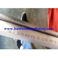 Wholesale Super Duplex Stainless Steel Seamless Pipe Pickled And Annealed from china suppliers