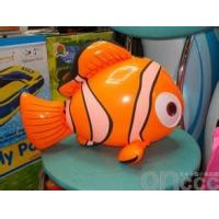Wholesale Fish Shape inflatable toys for swimming pools , PVC rider for kids from china suppliers