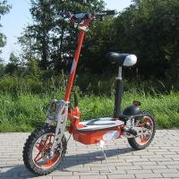 Wholesale 1000w Foldable Electric Scooter With Big Wheel Rim , Front And Rear Disc Brake from china suppliers
