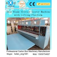 Wholesale Thin Blade Slitter Scorer 4 Blades 6 Scorers Manual Feeding Slitter from china suppliers