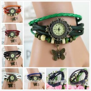 Wholesale Vintage Style Quartz Women Watches Fashion Relogio Femininos De Marca Clock Ladies Wristwatch Montre Femme Relojes de Mu from china suppliers