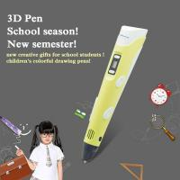 Wholesale Kid amazing gifts safety material drawing pen pla 3d pen 1.75mm filament from china suppliers