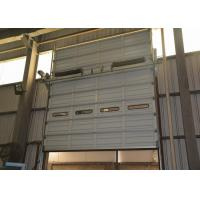 Wholesale Waterproof single sheet Steel Overhead Doors for industrial logistic warehouse use from china suppliers