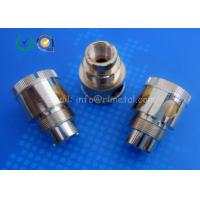 Wholesale CNC Turning Brass Telecommunication Parts Precision Wire Connectors Custom from china suppliers