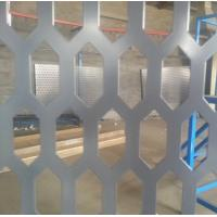 Wholesale PVC coated hexagonal hole perforated metal sheet from china suppliers