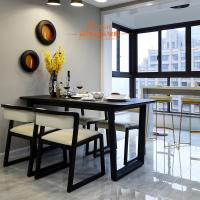 Wholesale Yellow PU Leather Wooden Frame Restaurant Comfortable Dining Room Chairs from china suppliers