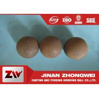 Wholesale 20mm - 150mm Grinding Steel Balls B2 B3 Material In Gold And Copper Mining from china suppliers