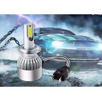 Wholesale 72 Watt 7800LM COB C6 Super Bright LED Headlights H7 Led Headlight Kit for Car from china suppliers