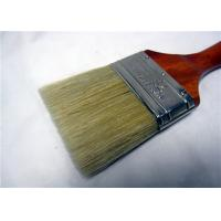 Wholesale White Bristle Flat Round Paint Brush For Oil Based Paint / Wall Painting from china suppliers
