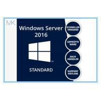 Quality MS Windows Svr Std 2016 64 Bit English 1 Pack DSP OEI DVD 16 Core Standard Edition for sale