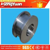 Wholesale Gantry crane and overhead crane used forged iron crane wheels from china suppliers